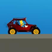 Барт Симпсон на багги