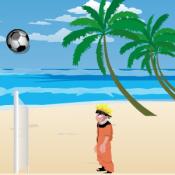 Бен 10 и Наруто волейбол