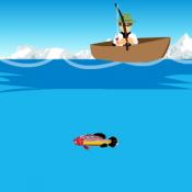 Бен 10 на рыбалке