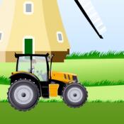 Бен 10 на тракторе