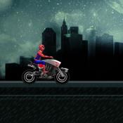 Человек Паук Быстрый мотоцикл
