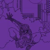 Человек Паук Ночной город