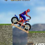 Человек Паук Смертельный мотоцикл