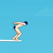 Чемпион по прыжкам в воду