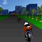 Кунгфу Панда на мотоцикле