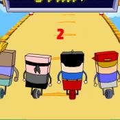 Квадратные гонщики