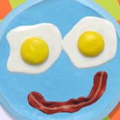 Лицо из еды