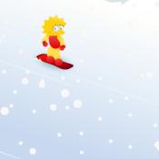 Лиза на сноуборде