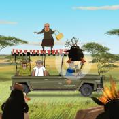 Мадагаскар Захват джипа
