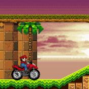 Марио квадроцикл в мире Соника