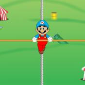 Марио на веревке
