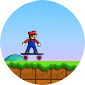 Марио скейтер