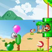 Марио стреляет по шарам