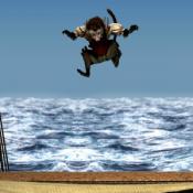 Мартышка на гамаке