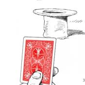 Метание карт в шляпу