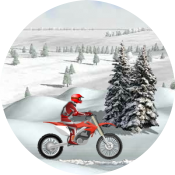 Мотогонки зимой
