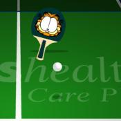 Настольный теннис с Гарфилдом