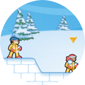 Осада снежного форта
