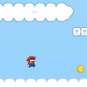 Приключения Марио в небе