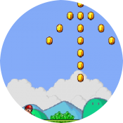 Прыжки Супер Марио