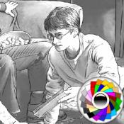 Раскраска Гарри Поттера 2
