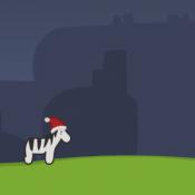 Рождественская зебра