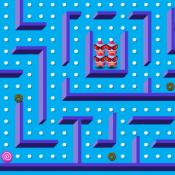 Снежный Pacman
