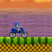 Соник на мотоцикле 2