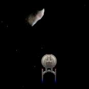 Star Wars Астероидное поле