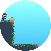 Супер Марио под водой