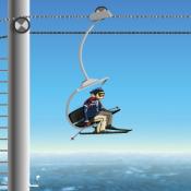 Трюкач на лыжах