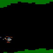 Вертолет в пещере