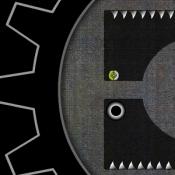 Вращение черного колеса